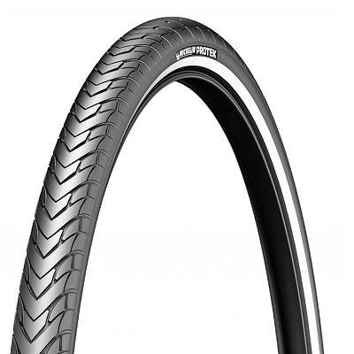 Pneu Michelin Protek 700 x 32C TR Noir/Flancs réfléchissants