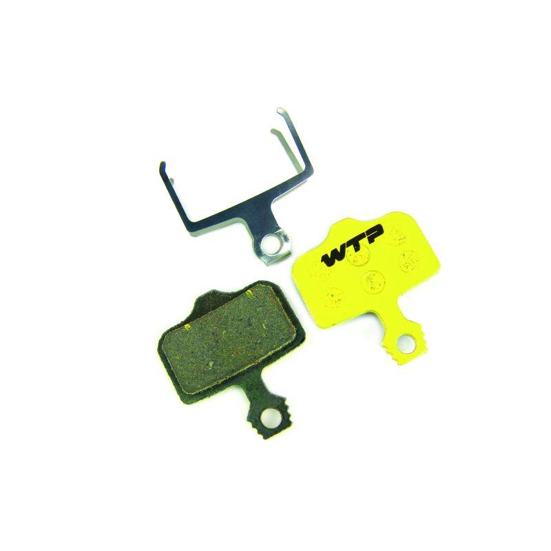 Plaquettes de frein vélo WTP compatibles Avid Elixir, SRAM XX et XO Organiques