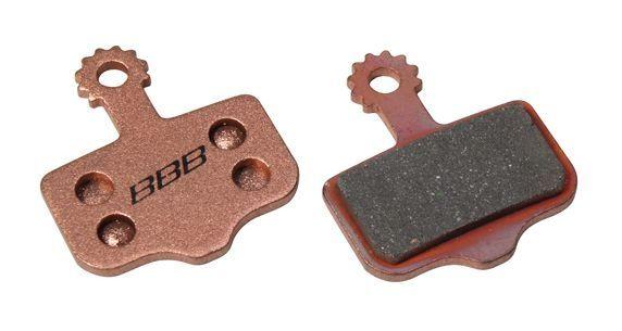 Plaquettes BBB comp. Avid Elixir / XX / XO métalliques - BBS-441S