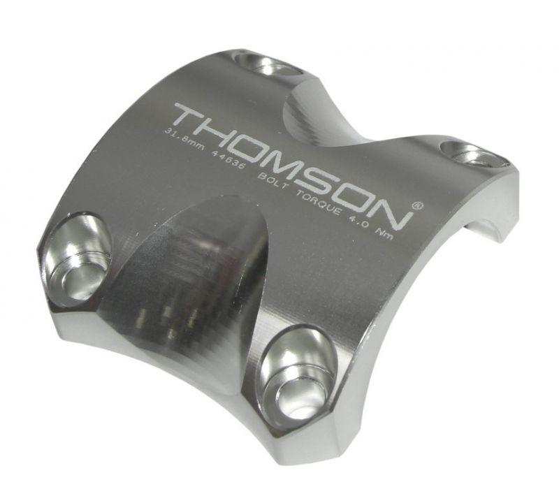 Capot de potence Thomson Elite X4 31.8 mm Argent