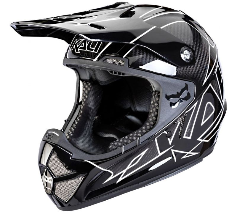 Casque Kali Protectives Shiva Stripes Noir