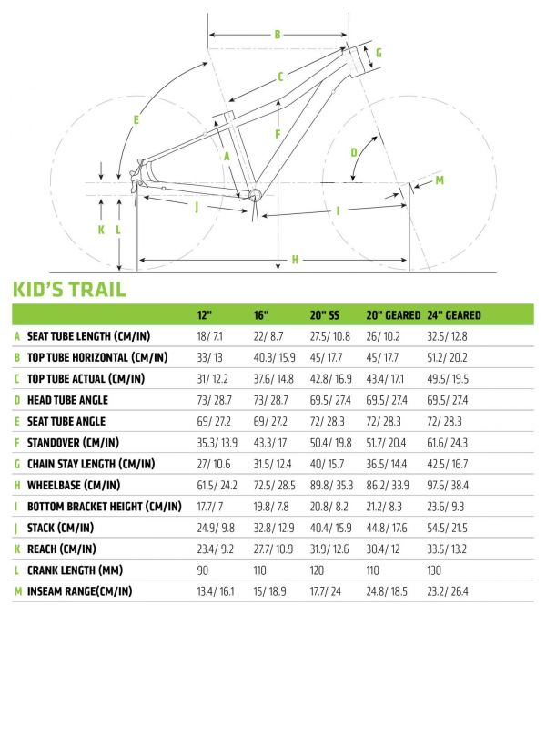 VTT junior Cannondale Trail 24 7V Rouge Acid - 1