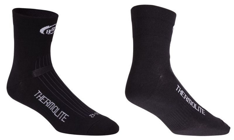 Chaussettes hiver BBB ThermoFeet (noir) - BSO-11
