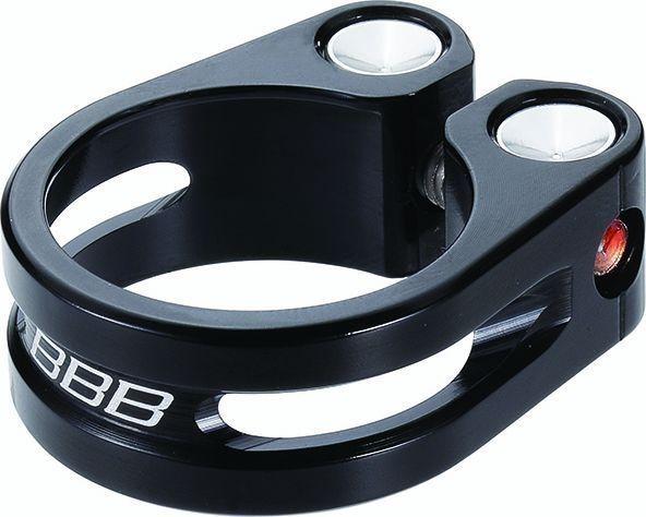 Collier de serrage BBB LightStrangler 35.8 mm Noir - BSP-85