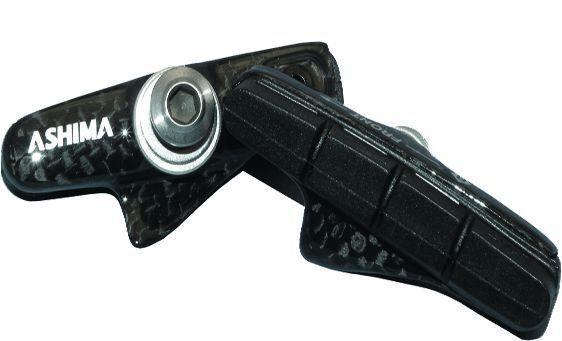 Porte-patin carbone Ashima comp. Shimano/SRAM, vis titane