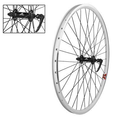 roue avant 26 vtt double paroi x alt profil x 2 blocage blanc pi ces roues et pneus sur. Black Bedroom Furniture Sets. Home Design Ideas