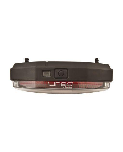Éclairage arrière Spanninga Lineo Xb 2 LEDs sur porte-bagages (À piles) - 1