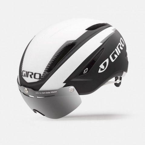 Casque Route Giro Air ATTACK Shield Noir/Blanc