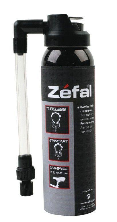 Bombe réparation crevaisons Zéfal Raccord flexible Spray 100 ml