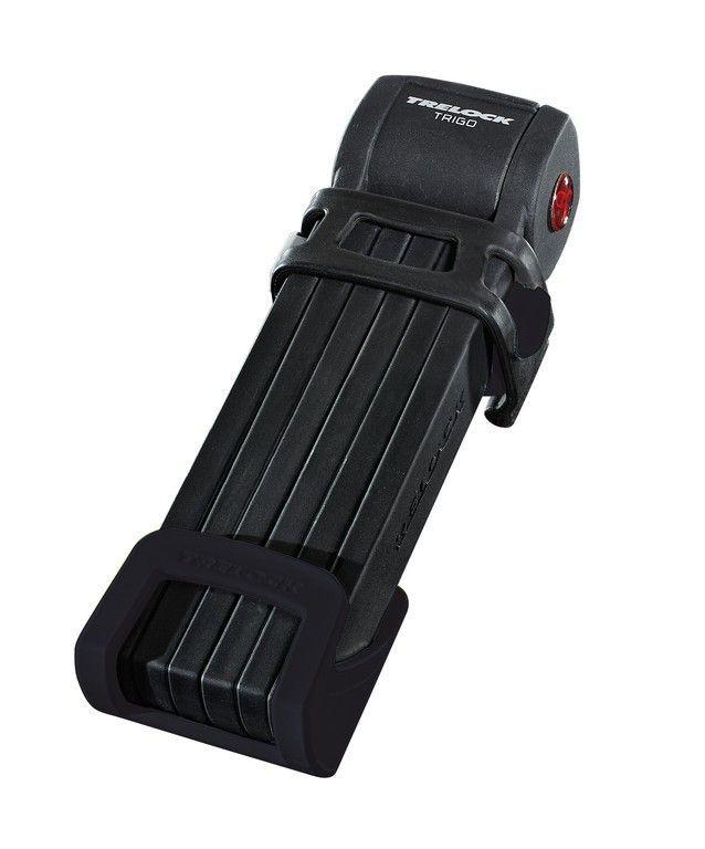 Antivol pliable Trelock Trigo FS 300/85 + support Noir