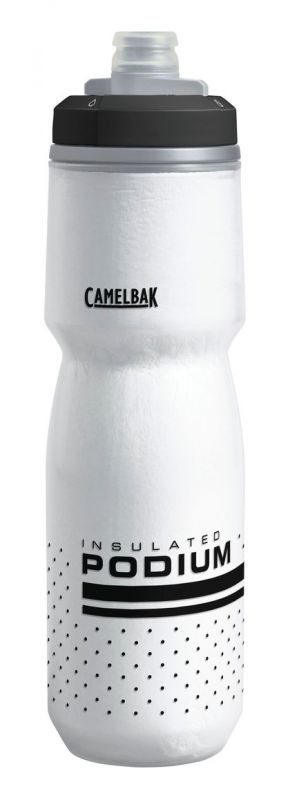 Bidon isotherme CamelBak Podium Chill 710 ml Blanc/Noir