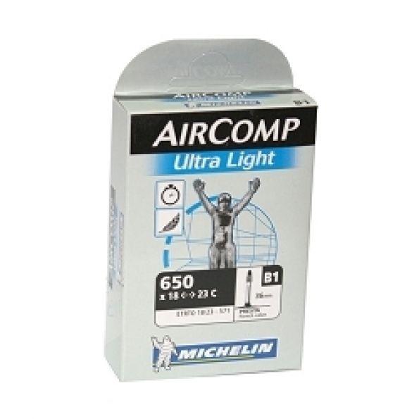 Chambre à air Michelin 650 x 18/23C B1 UltraLight Presta 40 mm