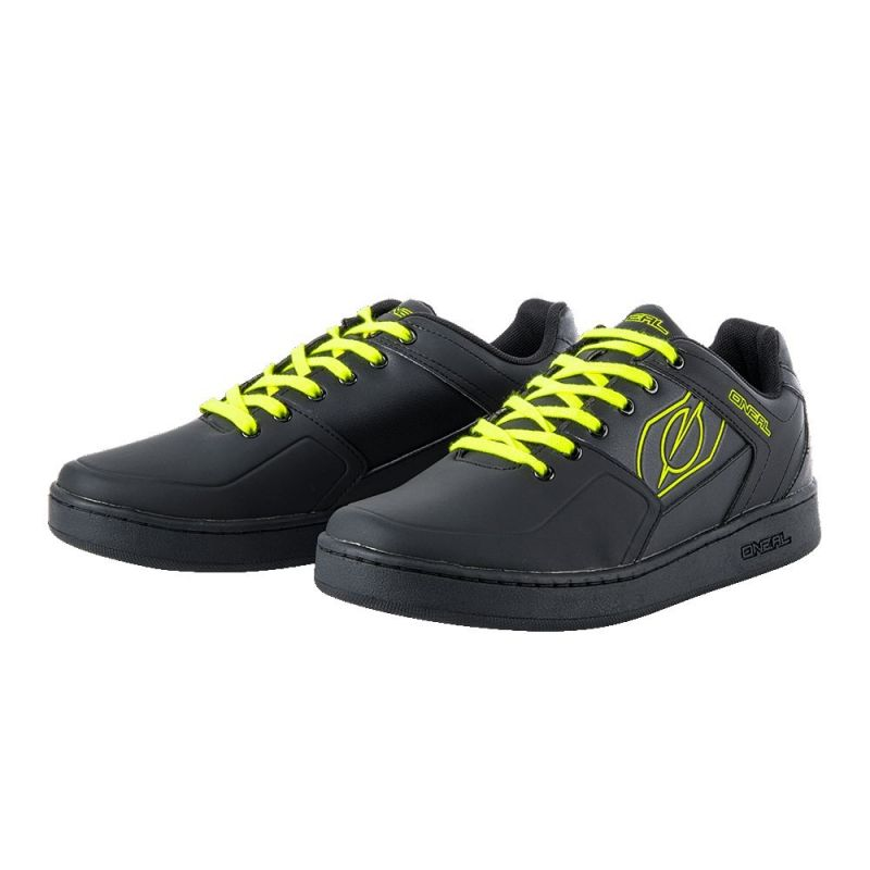 Chaussures O'Neal Pinned Pedal Noir/Jaune fluo - 3