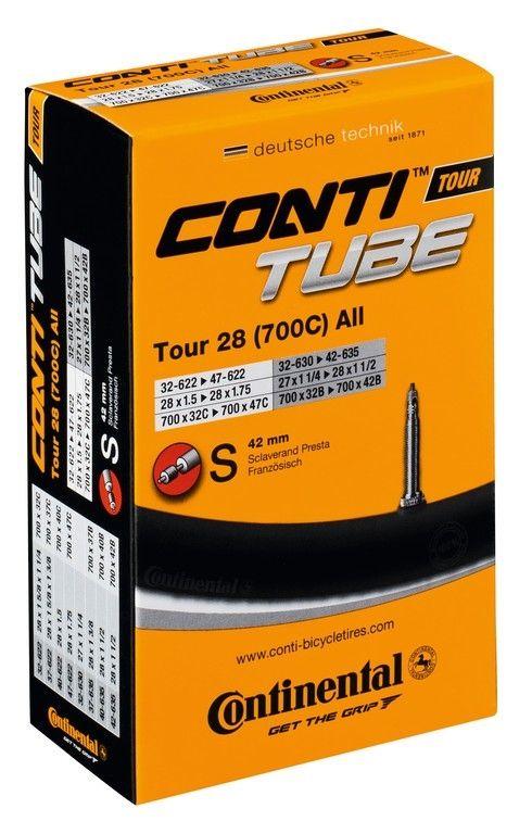 Chambre à air Continental Tour All 700 x 32/47B/C Presta 52 mm