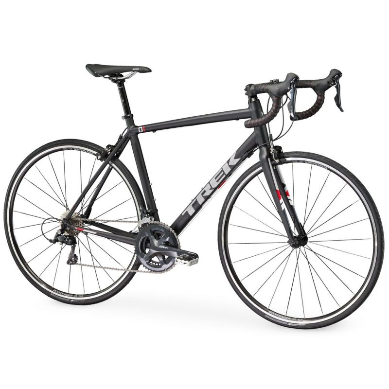 v lo route trek 1 2 compact h2 noir mat 2017 sur ultime bike. Black Bedroom Furniture Sets. Home Design Ideas