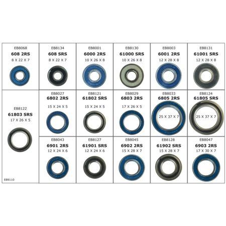 Boite de roulements Enduro Bearings Box Wheels Starter pour entretien de roues - 1