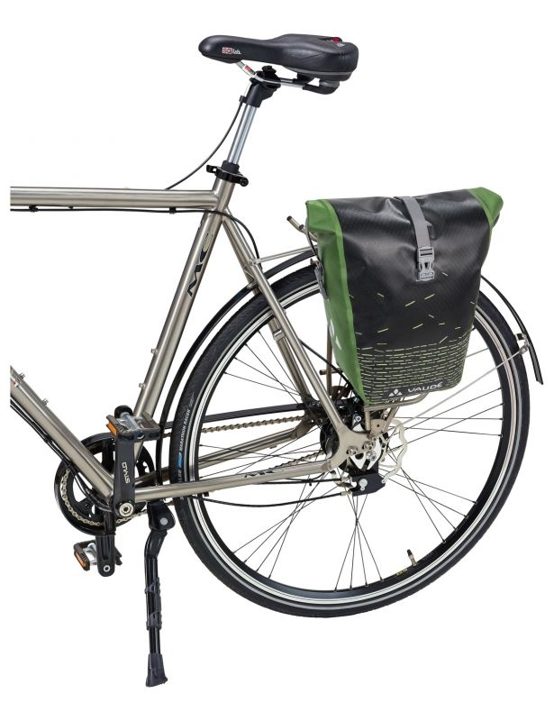 Sacoche porte-bagages Vaude Aqua Back Print Single 24 L Noir/Vert - 2