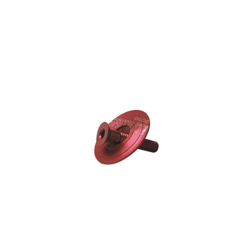 """Bouchon Headset + vis Gamut Cillos 1.1/8"""" Anodisé Rouge"""