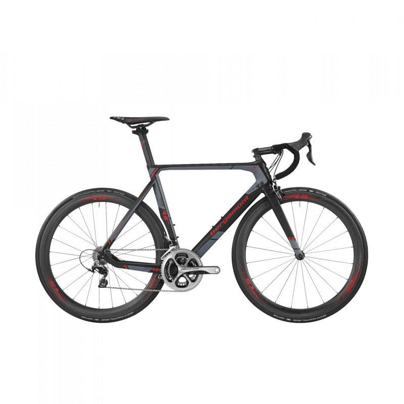 v lo de route bergamont prime rs mgn carbone noir gris pi ces v los complets sur ultime bike. Black Bedroom Furniture Sets. Home Design Ideas