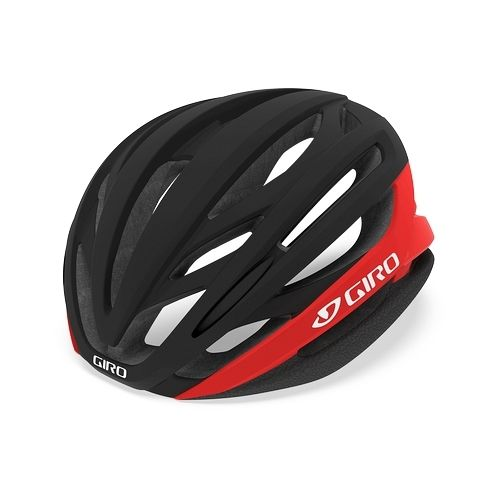 Casque Giro Syntax Noir Mat/Rouge Brillant