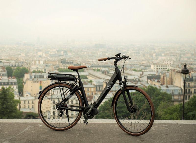 """Vélo électrique O2Feel Swan Alfine 8 Di2 26"""" 504 Wh Blanc - 1"""