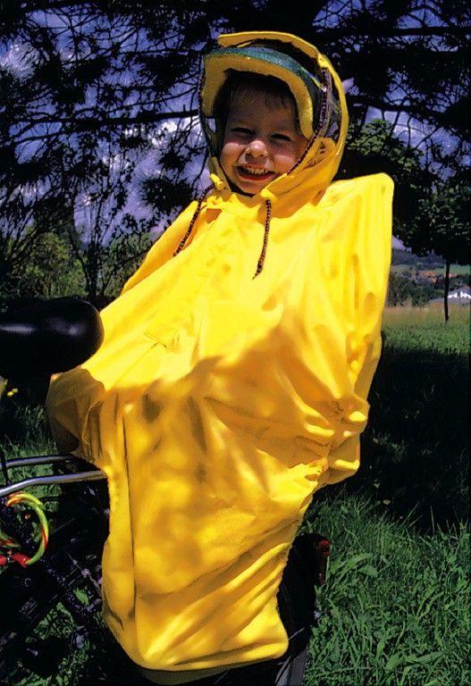 Poncho enfant imperméable Hock RainBow Jaune