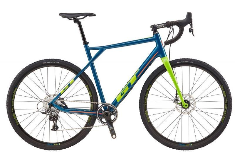 Cyclocross GT Grade CX Force Bleu/Vert