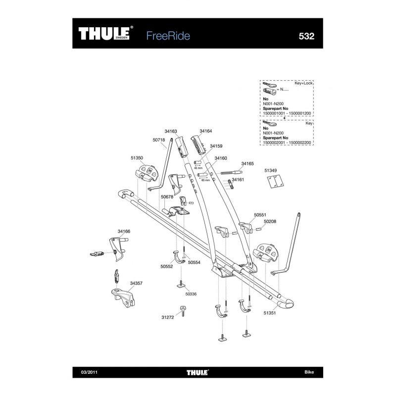 Vis Thule M6x35mm - 50336 - 1