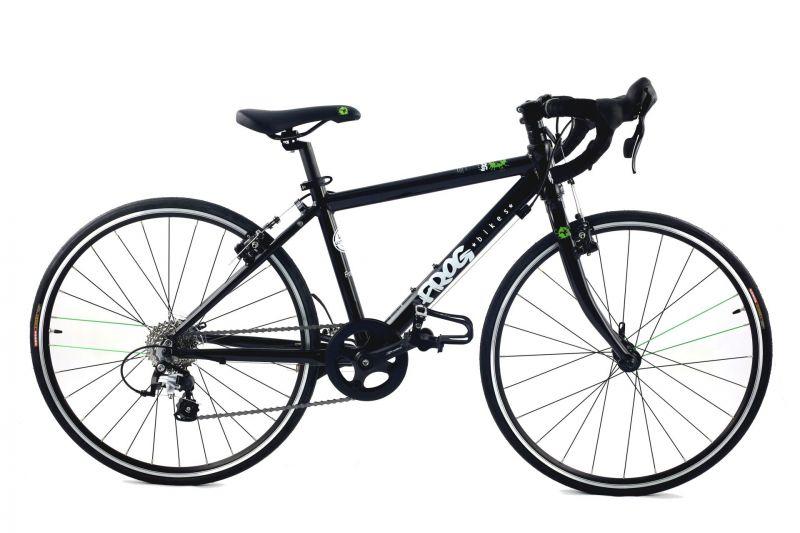 v lo route enfant frog bikes road 67 noir sur ultime bike. Black Bedroom Furniture Sets. Home Design Ideas