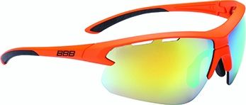 Lunettes BBB Impulse Orange mat + Verre PC Smoke Orange MLC 5216 - BSG-52
