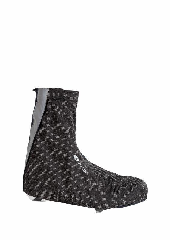 Couvre-chaussures Sugoi Zap Bootie Noir/Réfléchissant - 1