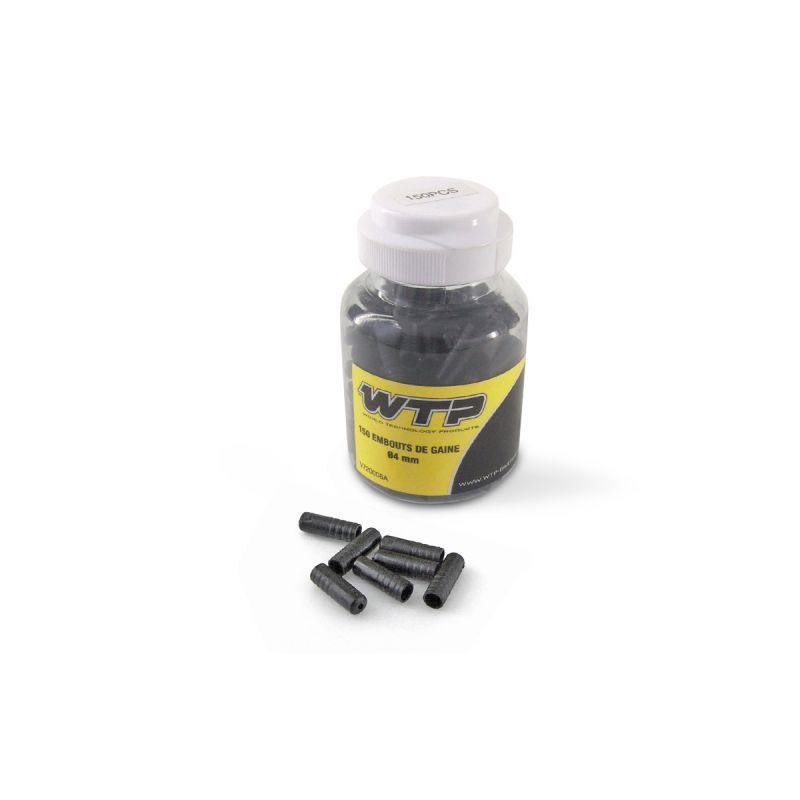 Embout de gaine WTP 4 mm (boîte de 150) Noir