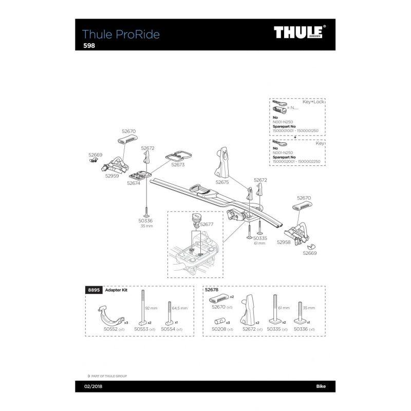 Vis Thule M6x35mm - 50336 - 7