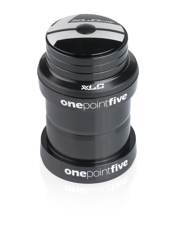 """Jeu de direction A-Head XLC Comp HS-A09 1,5"""" cône Ø 39,8 Noir"""