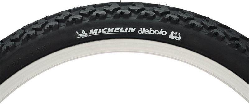 Pneu Michelin Diabolo Cool 24 x 1.75 TR Noir