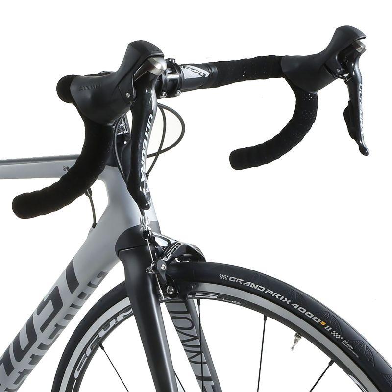 Vélo de route Ghost Nivolet 3 LC Argent/Titanium - 4