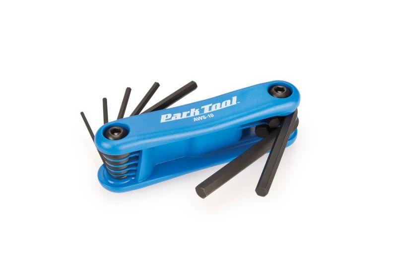 Kit clé allen Park Tool 1,5 à 6 mm - AWS-10 - 1