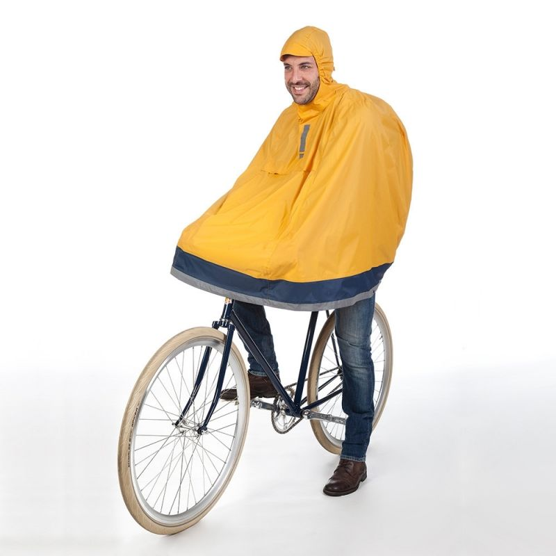 Cape anti pluie tucano garibaldina plus ocre sur ultime bike - Cape anti pluie ...