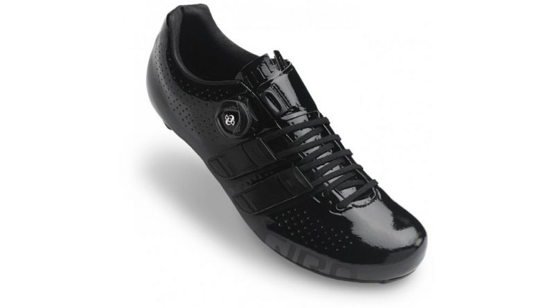Chaussures route Giro Factor Techlace Noir