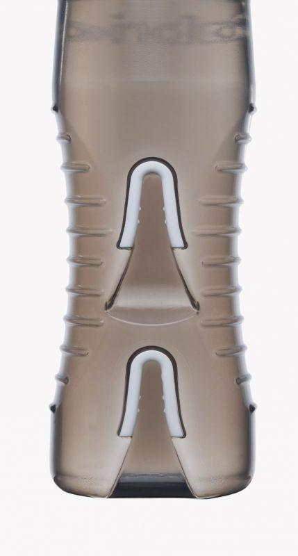 Bidon et supports Fabric 600 ml Transparent/Vert - 2