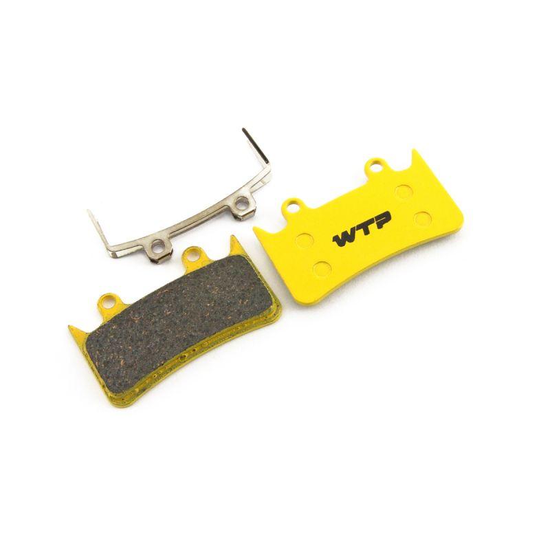 Plaquettes de frein vélo WTP compatibles Hope Mono 6/6ti Organiques