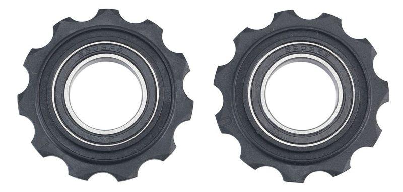 Galets de dérailleur BBB RollerBoys 11 dents comp. SRAM Noir - BDP-05