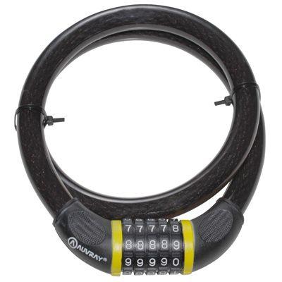 Antivol vélo câble à code Auvray Maxi 20 mm x 100 cm - 1