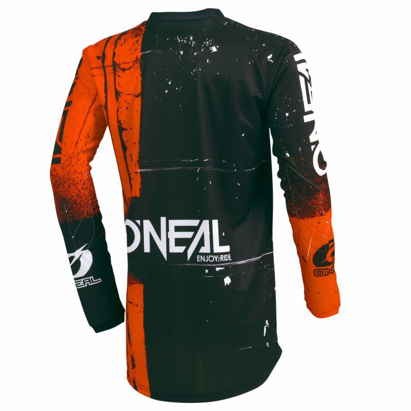 Maillot VTT O'Neal Element Jersey Shred Orange - 1
