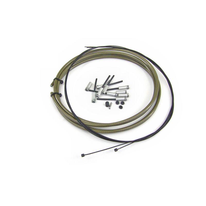 Kit WTP câbles au Teflon et gaine étanche de dérailleur Kevlar