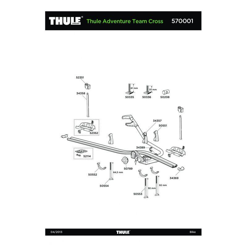 Vis Thule M6x35mm - 50336 - 4