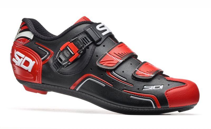Chaussures Sidi LEVEL Noir/Rouge/Blanc