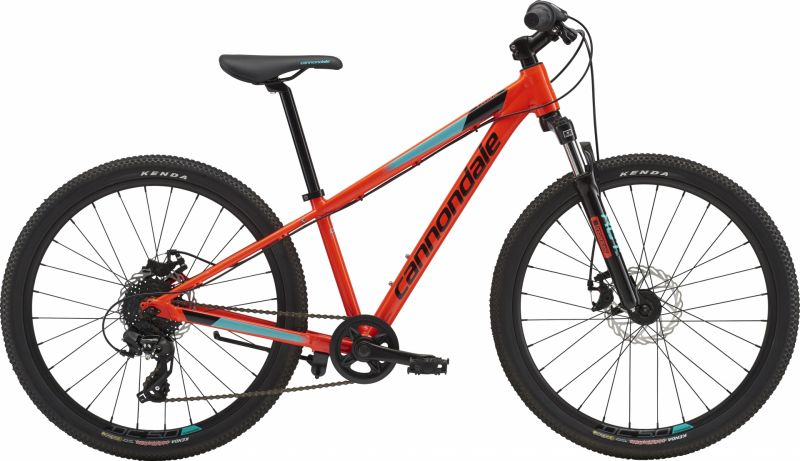 VTT junior Cannondale Trail 24 7V Rouge Acid