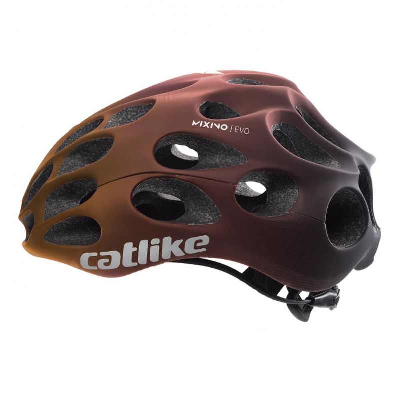 Casque Route Catlike Mixino Evo Orange/Rouge mat