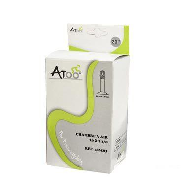 Chambre à air ATOO 20 x 1.3/8 Schrader 35 mm